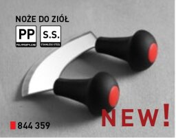 Nóż do siekania ziół 230 mm 844359