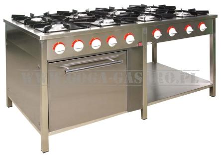 Kuchnia Gazowa 8 Palnikowa Szerokość 700 Piekarnik Gazowy Tg 8736pg 1
