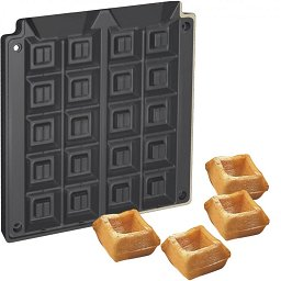 Waffo Bite Baking Plates for Helios Vertical Baking System