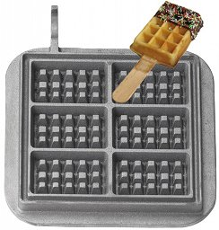 Cream Waffle on a Stick Baking Plates for Baking System